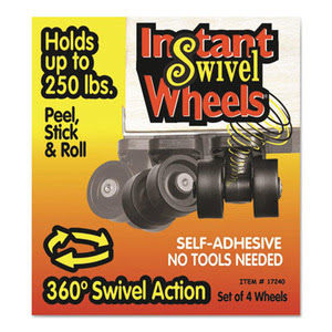 Master Caster Roll-Arounds Instant Swivel Wheels