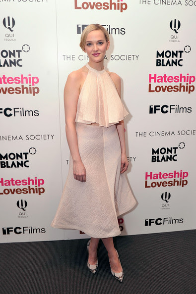 "Jess Weixler - The Cinema Society And Montblanc Host A Screening Of IFC Films' ""Hateship Loveship""- Arrivals"