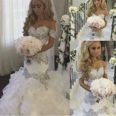 Saudi Arabia Bridal Gowns Sweetheart Neckline Lace