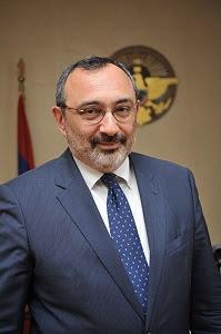 foreign minister of nagorno karabakh karen mirzoyan