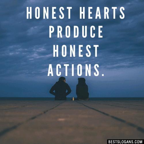 60 Catchy Honesty Slogans In English Realistic Company Slogans 2019