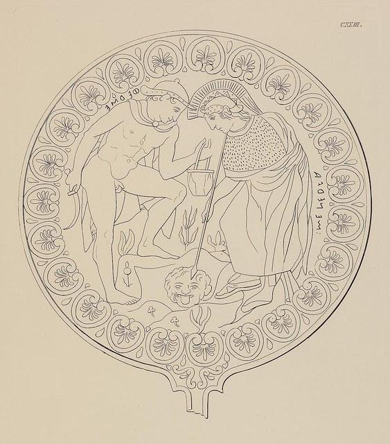 Etruskische Spiegel by Eduard Gerhard, 1840s