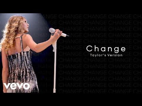 Taylor Swift - Change (Taylor's Version) Lyrics