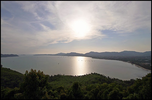 Chalong Bay View from Khao Kad Viewpoint