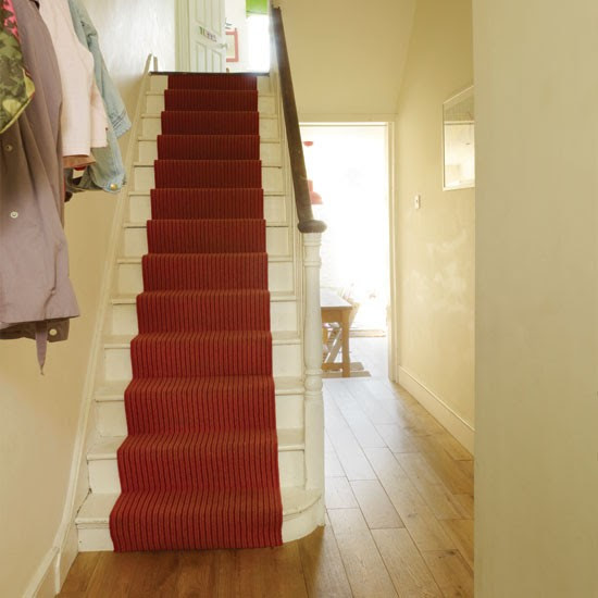 Hallway with stair runner | Hallway | housetohome.