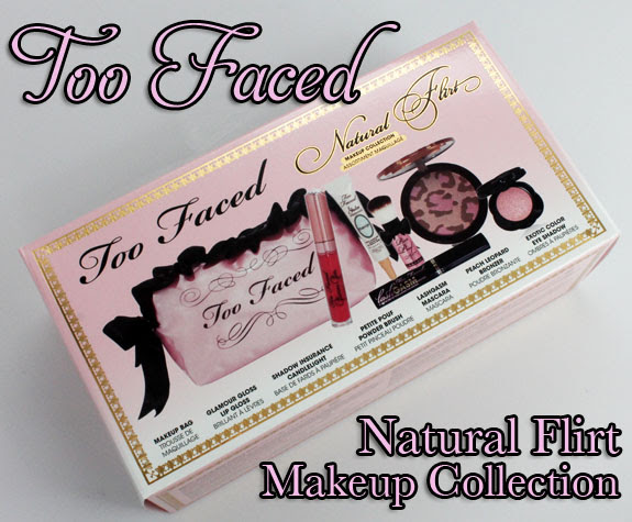 Too Faced Natural Flirt Makeup Collection Exclusive! Too Faced Natural Flirt Makeup Collection for Spring 2012 Swatches, Photos & Review