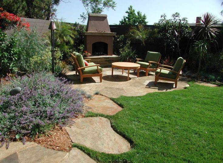 Backyard landscaping ideas with stone