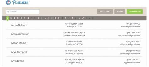Postable is the Easiest Way to Collect Address Info from