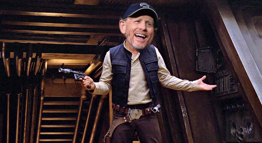 Ron Howard is the new director of the Han Solo movie, situation normal, how are you? screenshot