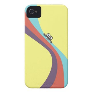 Funny Bug Bites Yummy Colorful Stripes iPhone case casemate_case