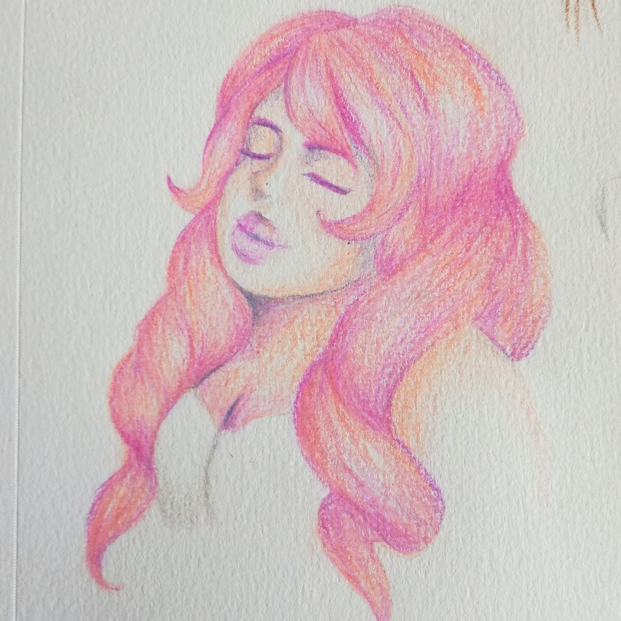 A fast rose quartz fanart I did in one hour :)