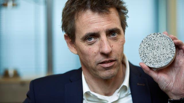 Henk Jonkers, el investigador que creó el bio-hormigón
