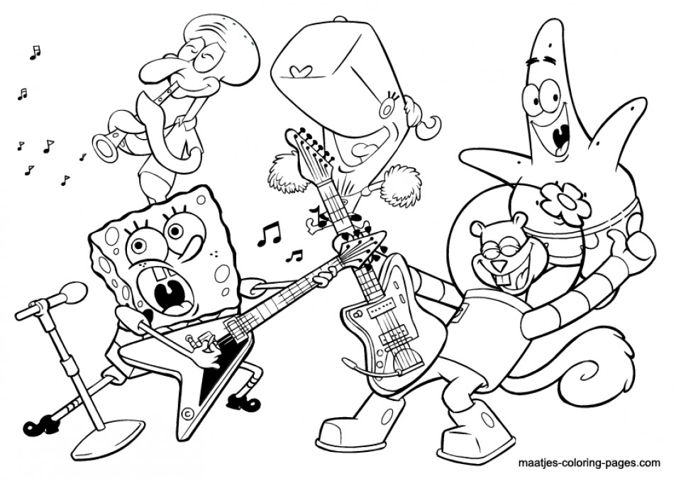 - Music Coloring Pages - Coloring Pages