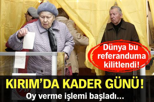 Kırım'da kader günü!