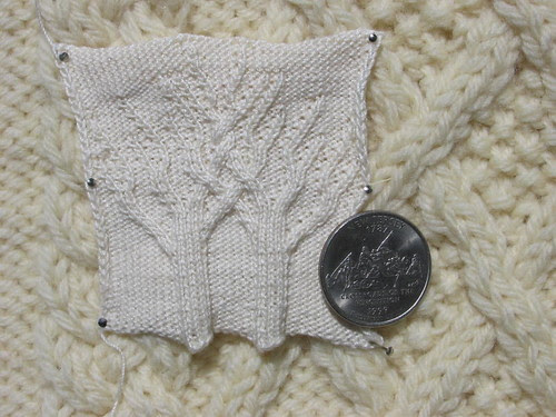 Enchanted Aran Forest swatch