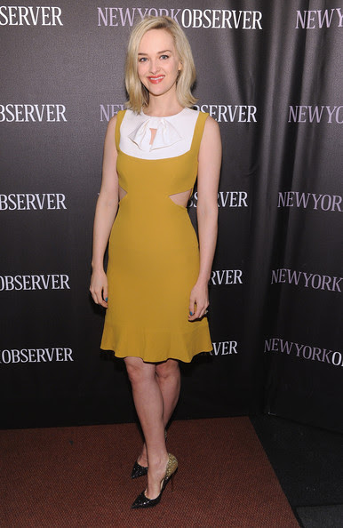 Jess Weixler - The New York Observer Re-Launch Event