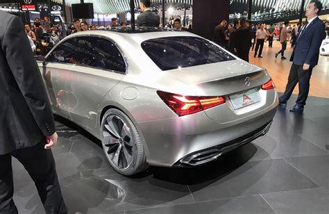 mercedes benz  class sedan concept revealed