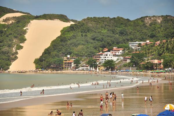 Evento esportivo pretende chamar atenção para a necessidade de preservar a praia de Ponta Negra
