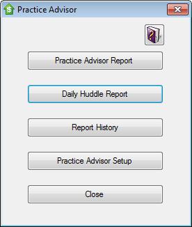 Practice Advisor Screenshot