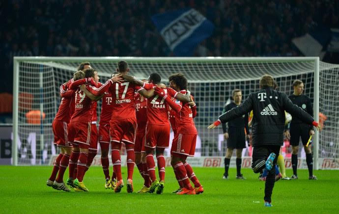 Bayern de Munique x Hertha Berlim (Foto: AFP)