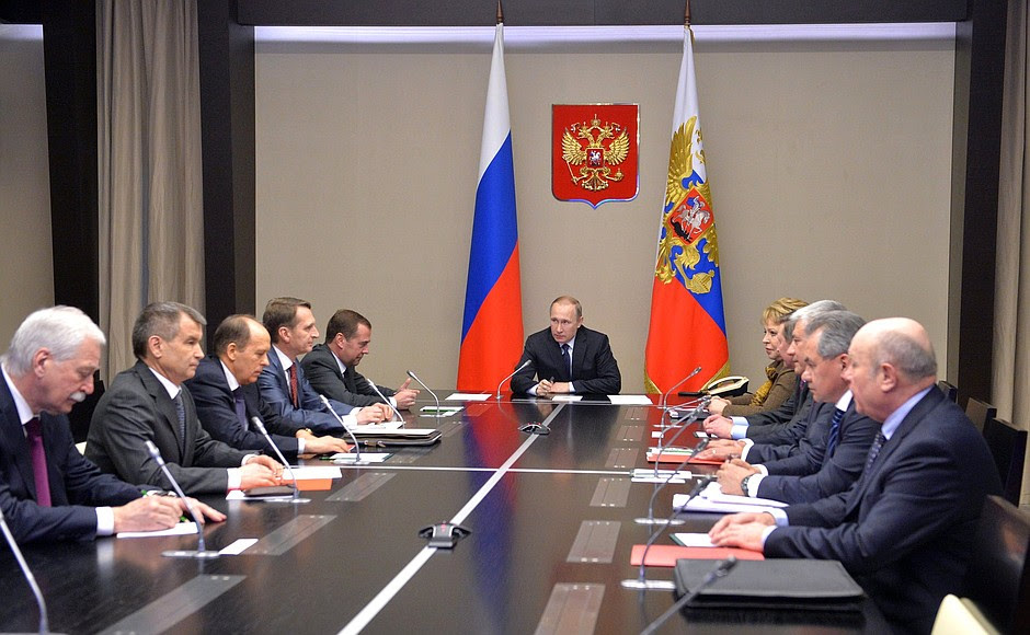 Meeting with the permanent Security Council members.