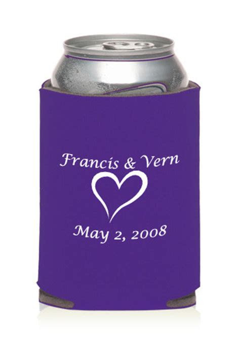 Promotional Collapsible Wedding Can Cooler   KZW10