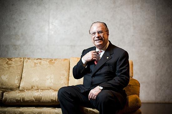 O ex-prefeito Paulo Maluf (PP), atual deputado federal, condenado na Corte Real de Jersey