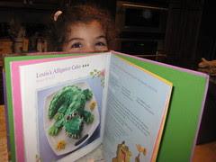 louis the alligator cake recipe