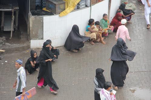 Muslim Beggars Station Road Namaz Bandra by firoze shakir photographerno1