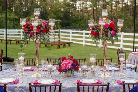 Purple & Pink Outdoor Styled Wedding   Southern Plantation