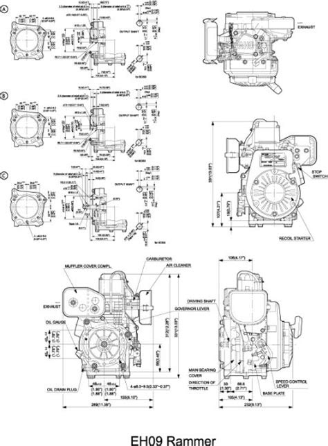 EH09 OHV Engine Technical Information | Subaru