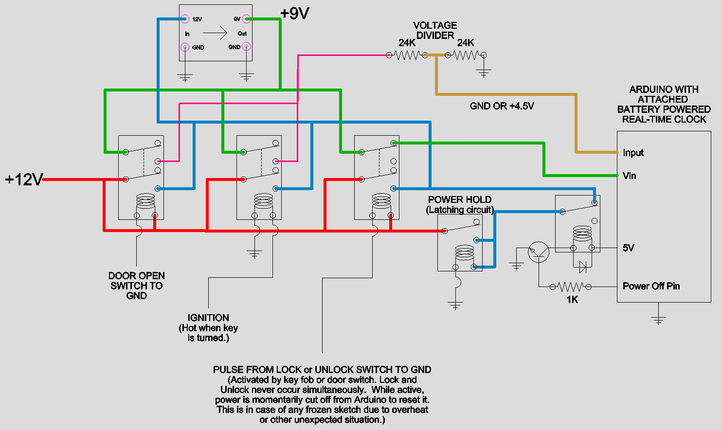 6dd2e 120 Relay Latching Wiring Diagram Wiring Library