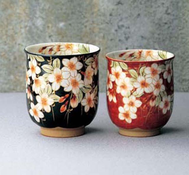 Kyo Yaki Japanese Green Tea Cups Japan Style