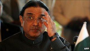 Asif Ali Zardari, file pic