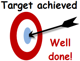 Image result for target achieved