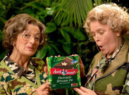 Aunt Bessie's adds I'm a Celebrity sweet and savoury lines