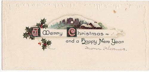 merry christmas panorama