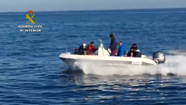 11 detenidos en Almería por traficar con migrantes desde Argelia hasta España