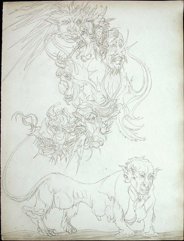 Austin Osman Spare, drawing 17