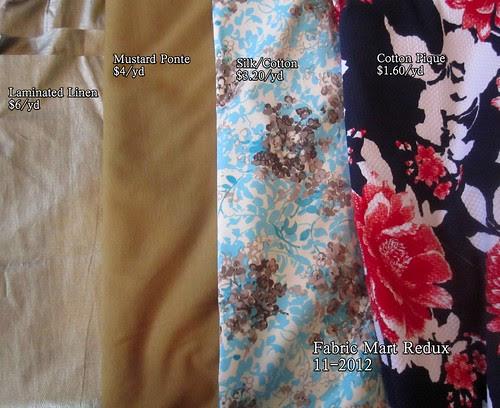 Fabric Mart Redux 11-2012