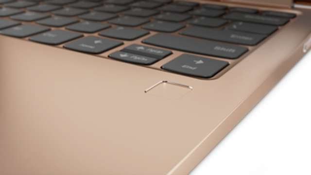 Yoga 730 Yoga 530 fingerprint reader