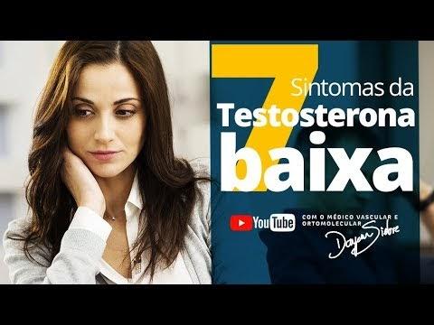 7 Sintomas da BAIXA TESTOSTERONA | Dr. Dayan Siebra