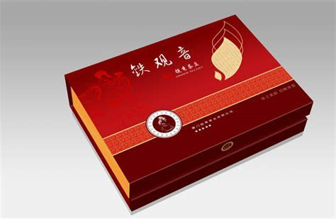 PSD Tieguanyin tea gift box packaging material   Free download