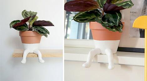 Transforme um simples vaso de barro em algo extremamente charmoso para decorar a casa