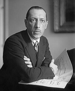 Russian composer Igor Stravinsky (1882–1971), ...