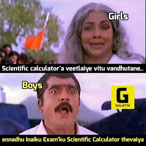 Boys Vs Girls Tamil Memes Trolls And Jokes