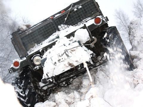 Russian self-made Hummer 8