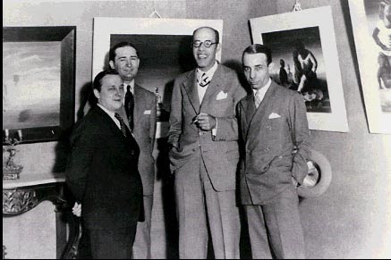 Arquivo: Cândido Portinari, Antônio Bento, Mário de Andrade e Rodrigo Melo Franco 1936.jpg