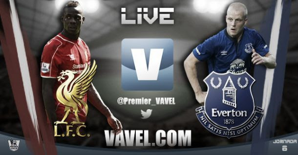 Re-live the action: Liverpool 1-1 Everton Stream and EPL Scores 2014
