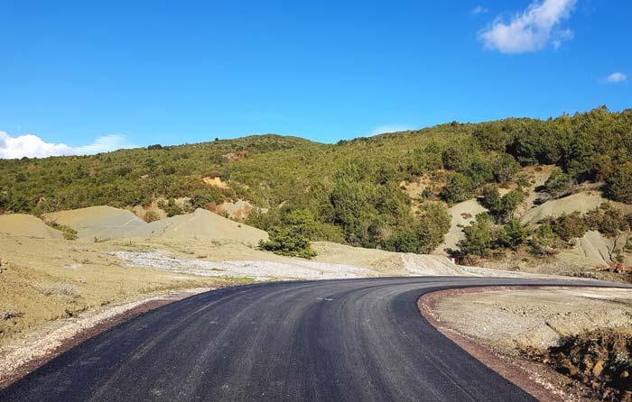 Άρτα: Αποκατάσταση οδικού δικτύου Άνω Καλεντίνη-Ι.Μ. Ροβέλιστας